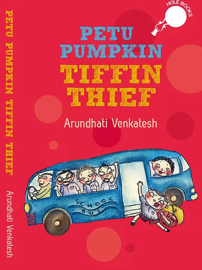 indian children's book - petu pumpkin tiffin thief
