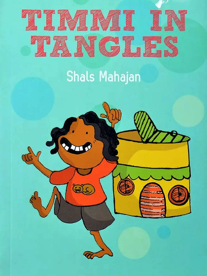 indian children's book - timmi in tangles