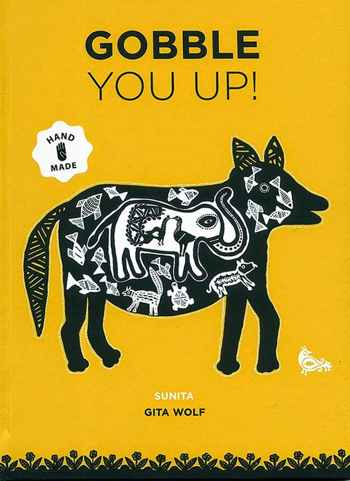 indian children's books - gobble you up