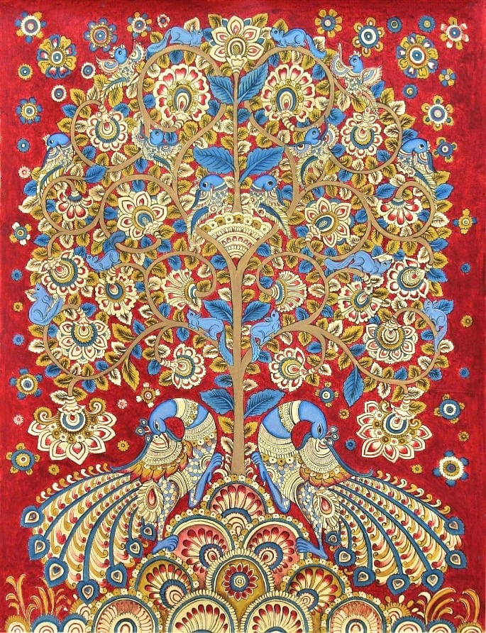 kalamkari - Indian art form