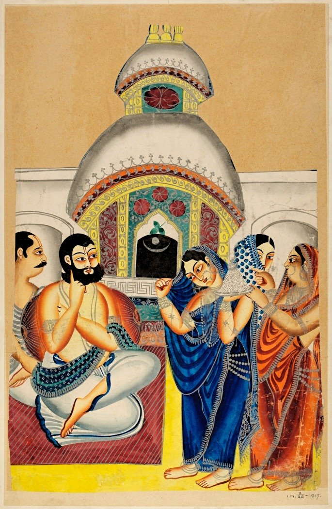 kalighat - indian art form