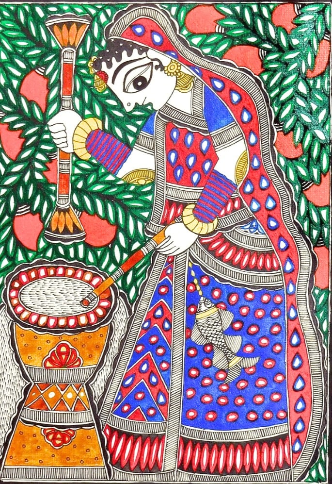madhubani - indian art form