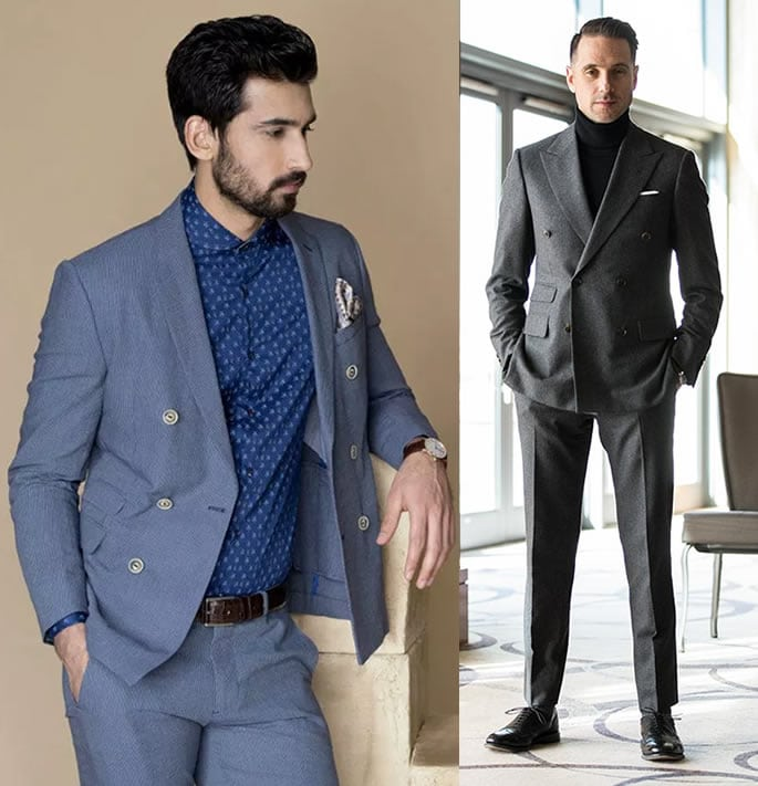 office wear suits with no tie