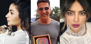 social media bollywood stars