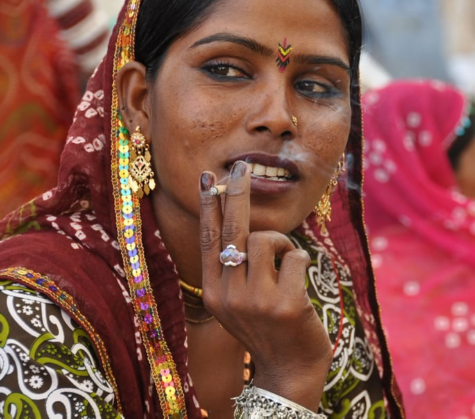 social taboos india - smoking