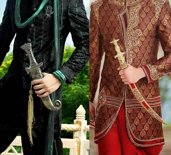 wedding sword modest