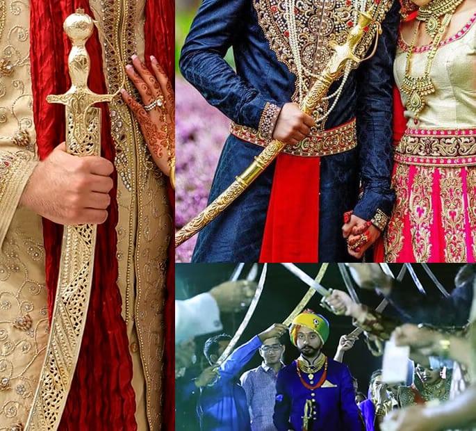 wedding sword rajasthani