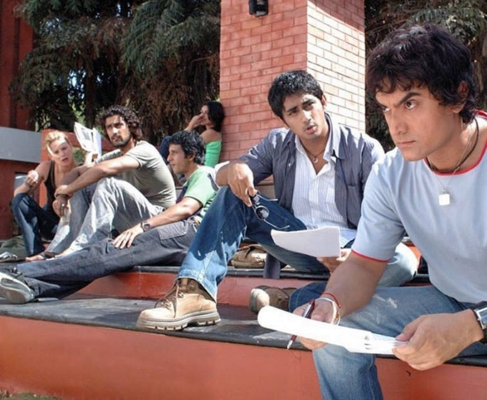 Bollywood Films Social Stigmas - rang de basanti