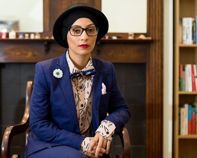 British Asian female spoken word - Amerah Saleh