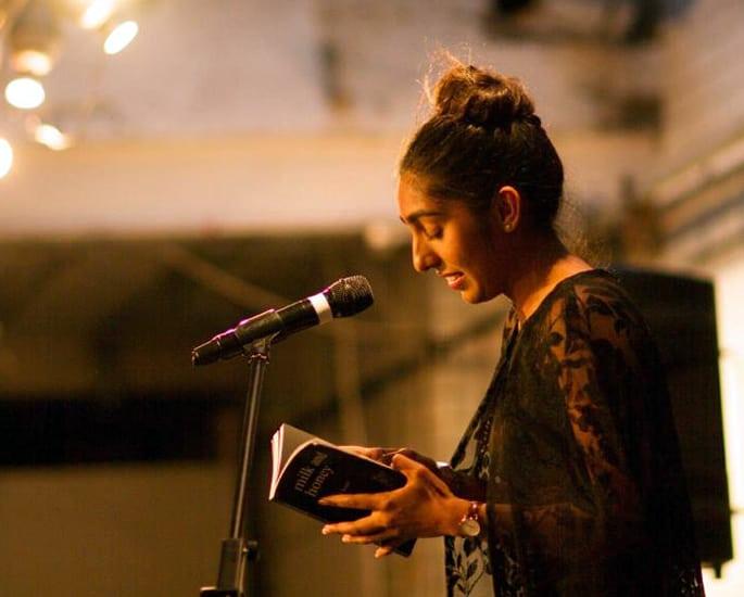 British Asian female spoken word - rupi kaur