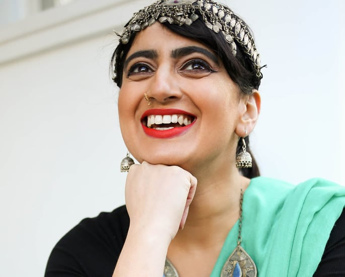 British Asian female spoken word - shagufta iqbal