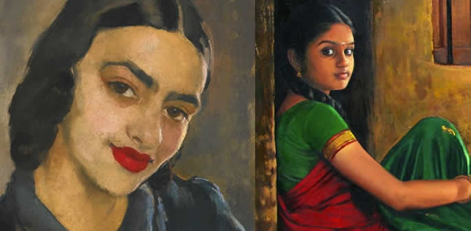 Famous Works of Art by Indian Artists