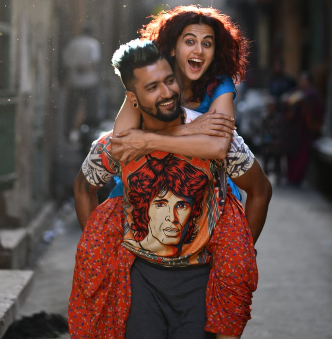 Manmarziyaan Vicky Kaushal and Taapsee Pannu