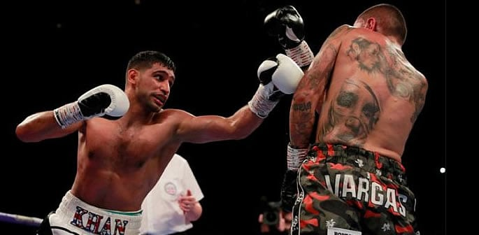 amir khan beats vargas