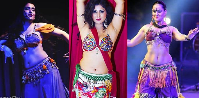 best belly dancers of india