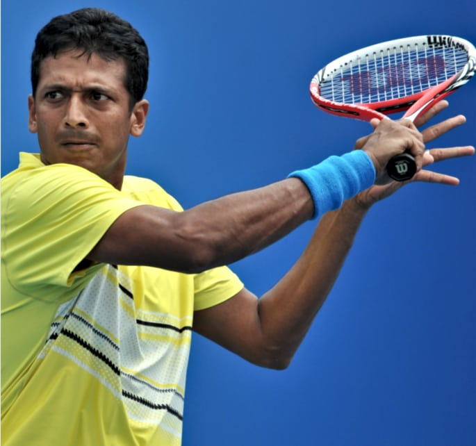 bhupati - tennis players