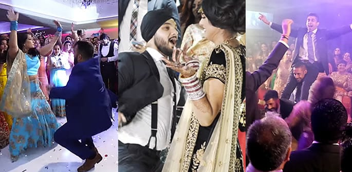 desi wedding dance-off performances