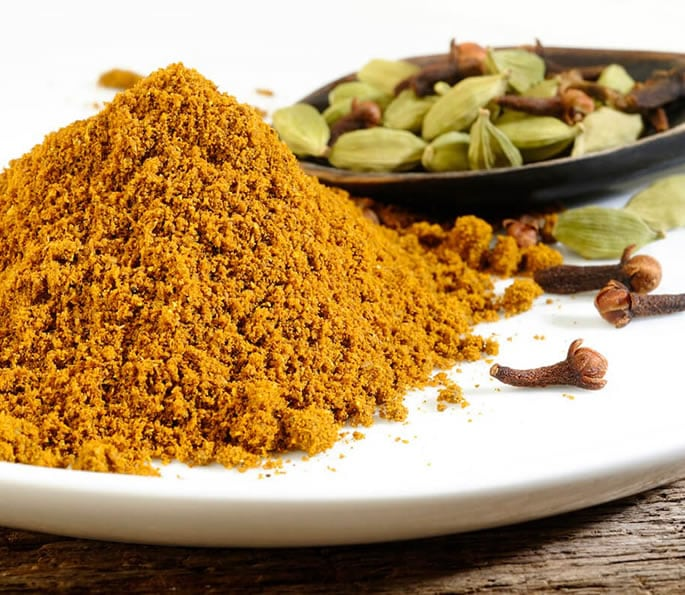 essential indian spices masala