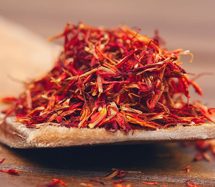 essential indian spices saffron
