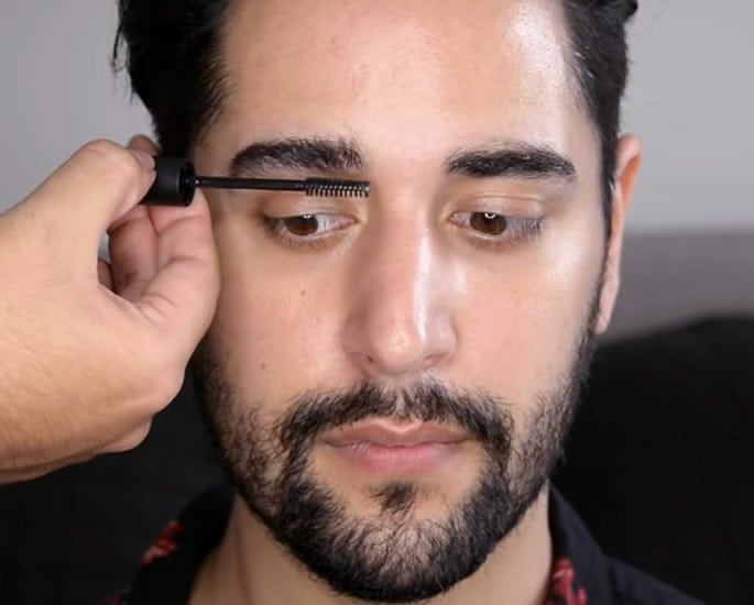eye makeup for desi men