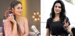 Kareena Kapoor records debut Radio Show with Sunny Leone
