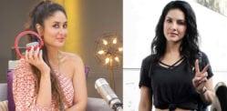 Kareena Kapoor anarekodi kipindi cha kwanza cha Redio na Sunny Leone
