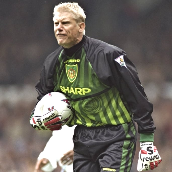 premier league players - schmeichel