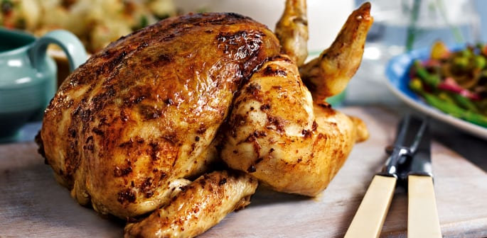 roast chicken - featured