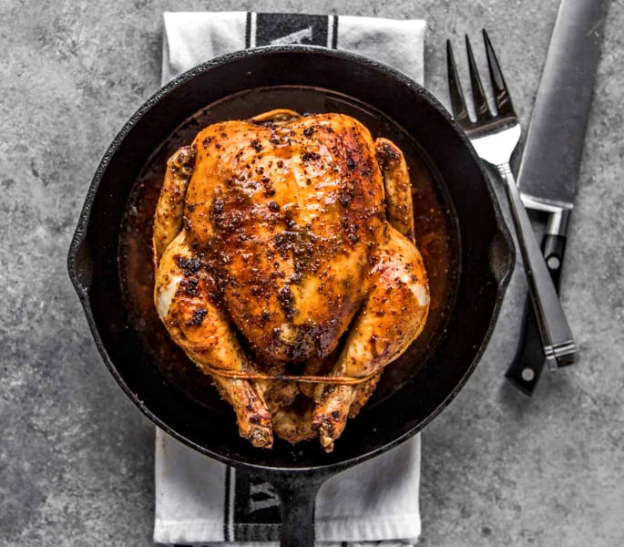 roast chicken one pot