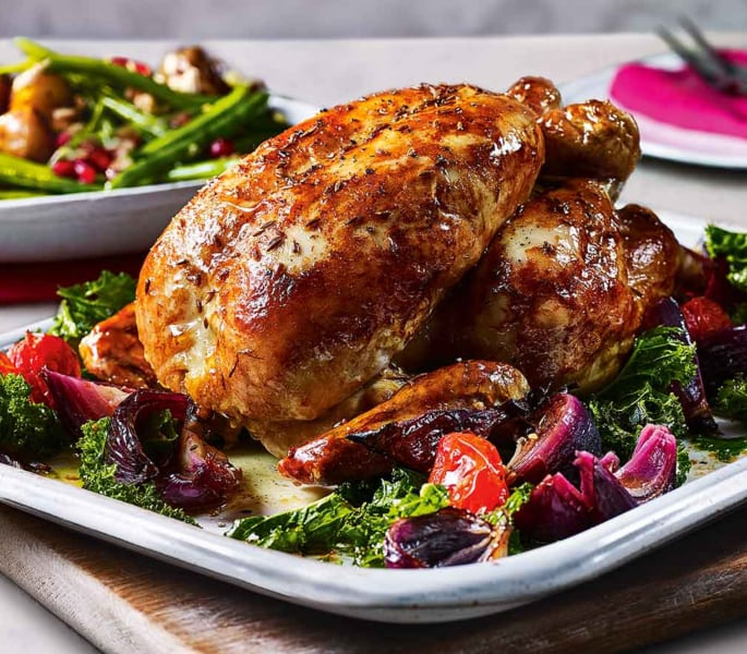 roast chicken spiced