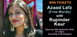 Win Tickets for Rupinder Kaur's 'Azaad Lafz' Poetry Workshop