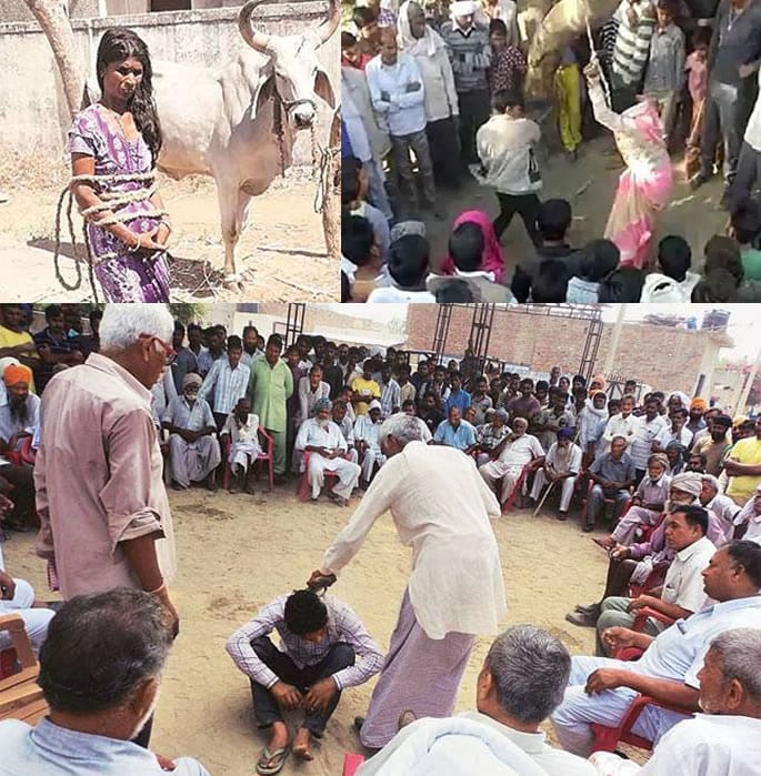 village punishments india type