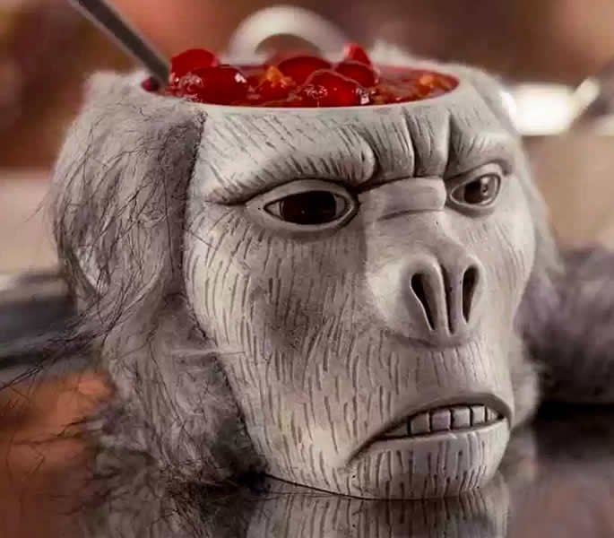 10 Most Dangerous Foods in the World - Monkey Brains