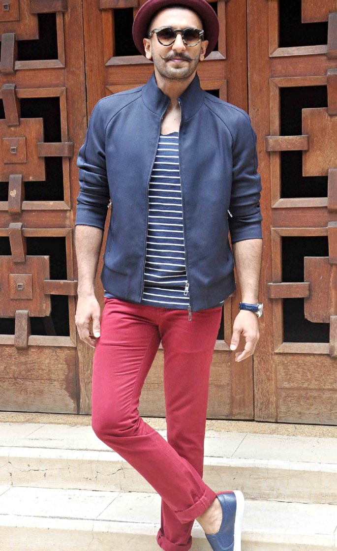 10 Top Casual looks of Bollywood Actors - ranveer