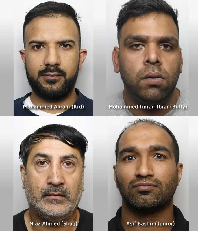20 Asian Men convicted for Sexual Abuse of Young Girls in Huddersfield - trial three
