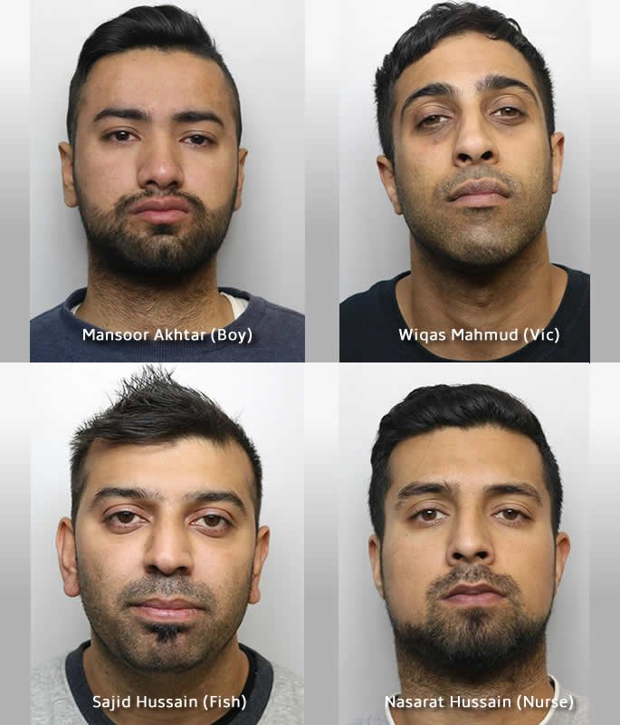 20 Asian Men convicted for Sexual Abuse of Young Girls in Huddersfield - trial two 1