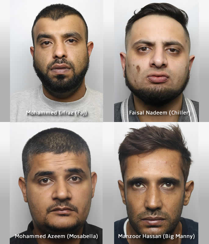 20 Asian Men convicted for Sexual Abuse of Young Girls in Huddersfield - trial two 2