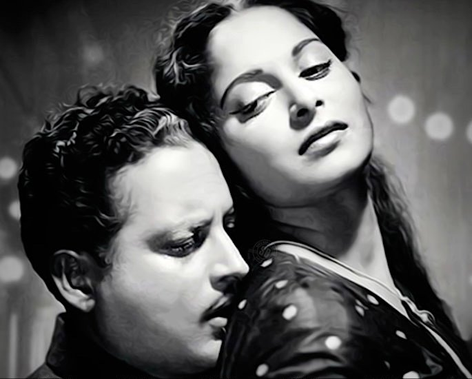 20 Classic Romantic Bollywood Films - Pyaasa