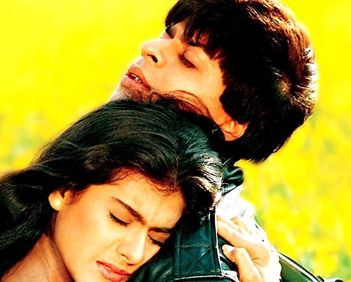 20 Classic Romantic Bollywood Films - dilwale dulhania le