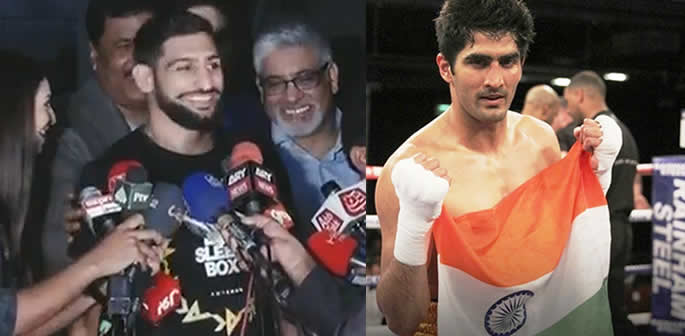 Amir Khan Challenges any Boxer in India to Beat Him f