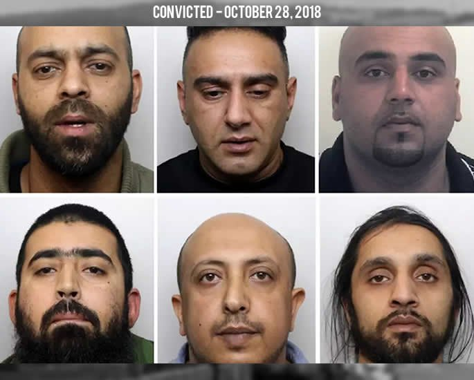 Asian Sex Abuse Gangs Rotherham convicted