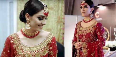 Ayeza Khan leads the 2018 Wedding Atelier Event