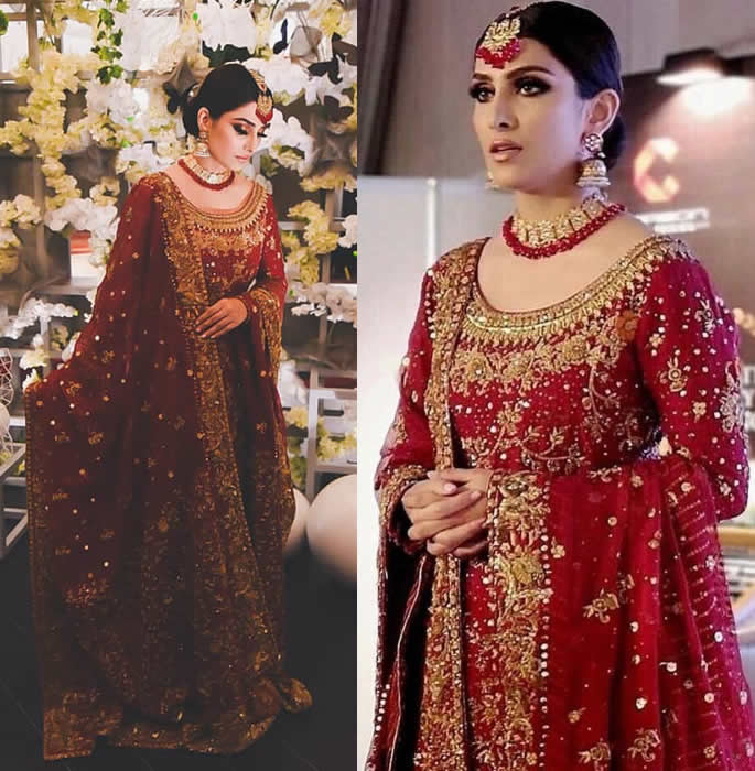 Ayeza Khan leads the 2018 Wedding Atelier Event solo