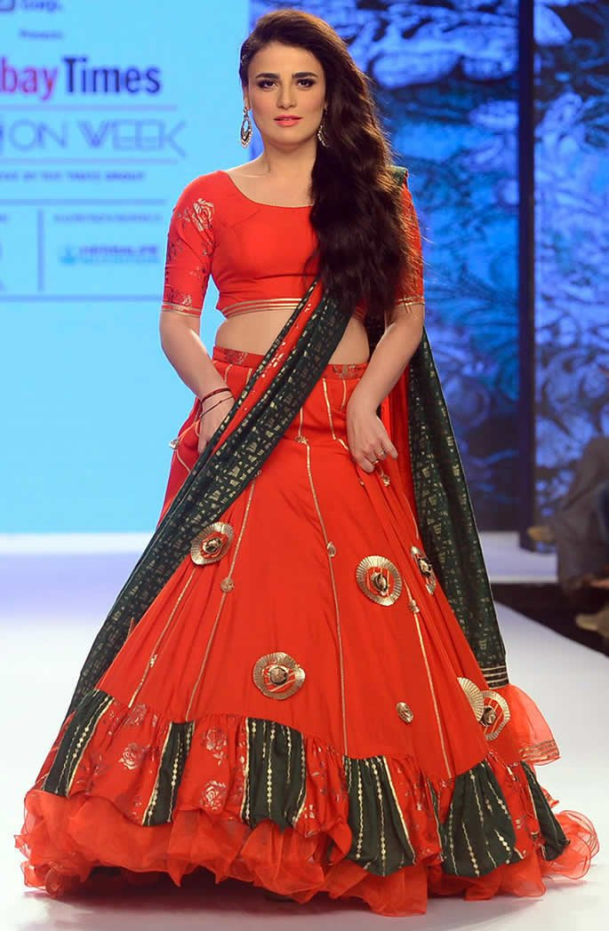 Bombay Times Fashion Week - Radhika Madan