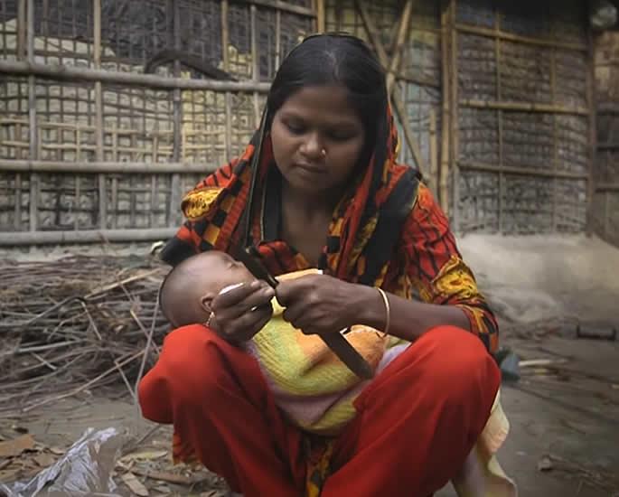 Child Marriage in Bangladesh - motherhood