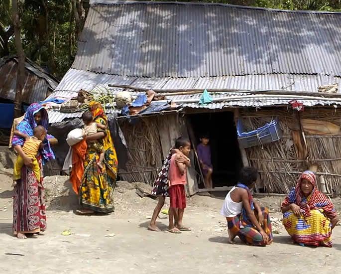 Child Marriage in Bangladesh - village