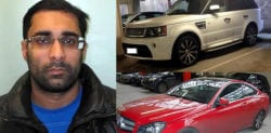 Croydon Man jailed for Renting £728,000 Worth of Stolen Cars