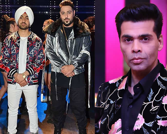 Diljit Dosanjh and Badshah to appear on Koffee with Karan 6 all