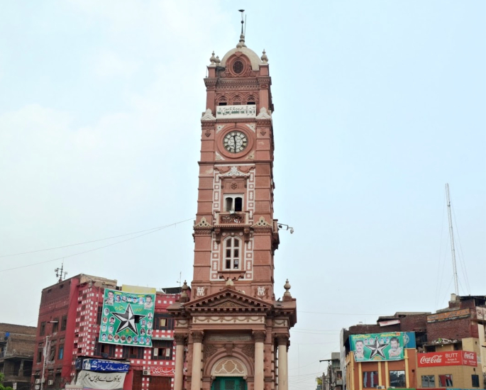 Famous Sculptures and Monuments of Pakistan - clock tower