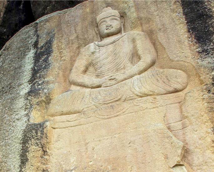 Famous Sculptures of Pakistan - buddha